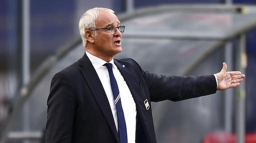 Claudio Ranieri annuncia l'addio alla Sampdoria