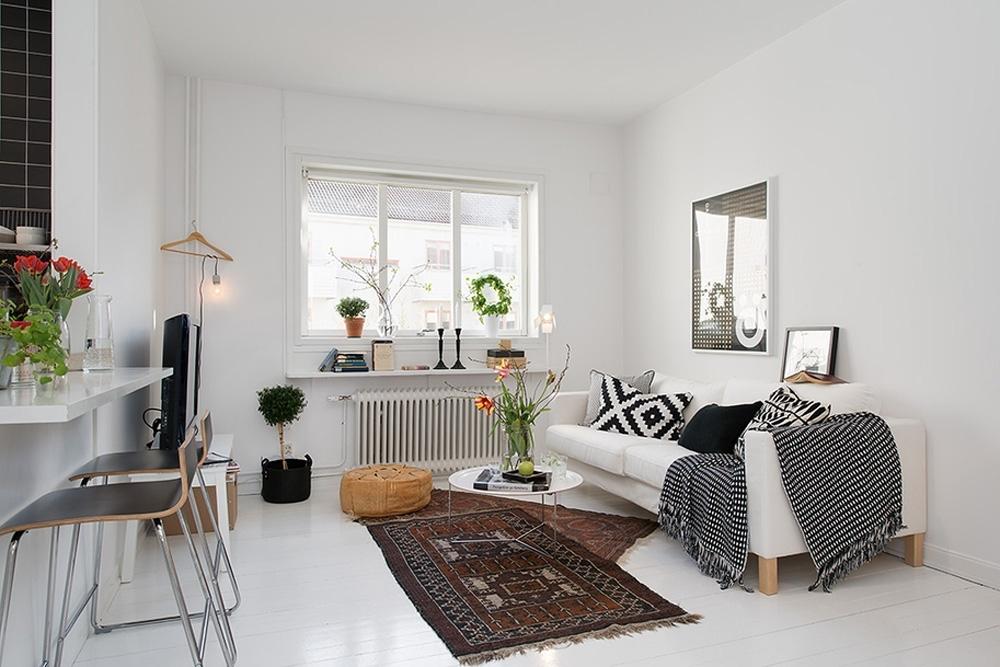 Comodità ed estetica in una casa piccola